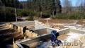 Заливка фундамента в Ратомке. Монолитный,  свайный ленточный