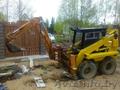 Мини экскаватор в Воложине. Планировка участка,  копка ям,  траншей