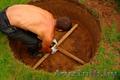 Копка колодца в Заславле. Монтаж,  чистка углубление колодцев