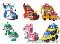 6 игрушек Робокар поли со скидкой