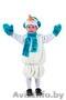 Костюм снеговика для мальчика прокат