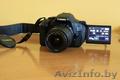 Зеркальный фотоаппарат Canon 600D+объектив+карта памяти