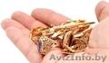 лом золото Золотую цепочку браслет кольцо серьги зубные коронки Золотые часы , Объявление #1533594