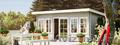 Садовые домики,  беседки,  хозблоки для дачного участка из профилированного бруса