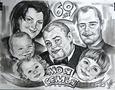 Шаржист Художник на свадьбу день рождения выпускной юбилей - Изображение #2, Объявление #1556713