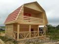 Дачный новый Дом из бруса с доставкой, установкой