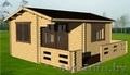 Дачный дом 5*4 под ключ, цена с доставкой и сборкой 5875 бел руб за дом., Объявление #1568287