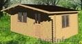 Дачный дом 5*4 под ключ, цена с доставкой и сборкой 5875 бел руб за дом. - Изображение #2, Объявление #1568287