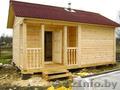 Сруб Дома или Бани из бруса установка в Логойском рн - Изображение #4, Объявление #1572923