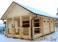 Сруб Дома или Бани из бруса установка в Логойском рн - Изображение #5, Объявление #1572923