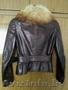кожаная куртка с мехом лисы 42 размер - Изображение #3, Объявление #1588921