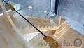 Проектирование, изготовление и монтаж лестниц из дерева стекла металла.Звоните - Изображение #4, Объявление #1595426