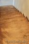 Лестница отделка массивом дуба ступеней из бетона, Объявление #1606092
