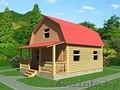 Садовый Домик для дачи сруб 6х7,5 м из бруса с установкой - Изображение #2, Объявление #1614994