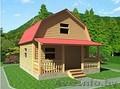 Садовый Домик для дачи сруб 6х7,5 м из бруса с установкой - Изображение #5, Объявление #1614994