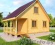Садовый Дом Рихтер из бруса 6х8,  с террасой 12м2