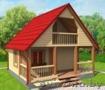 Дом-Баня сруб Заря из бруса 6х6 с установкой