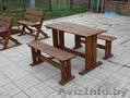 Скамейки садовые, столы, лавочки из массива сосны. - Изображение #4, Объявление #1624602