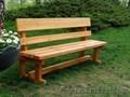Скамейки садовые, столы, лавочки из массива сосны. - Изображение #3, Объявление #1624602