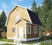 Дом сруб Кент 6х6 из бруса с мансардой установка за 10 дней - Изображение #2, Объявление #1631666
