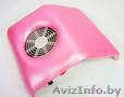 Пылесос маникюрный с подставкой для рук (розовый) 23w