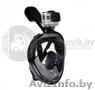 Подводная маска с креплением для экшн камеры и берушами