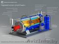 Паровой котел 2000 кг/ч газ/дизель в наличии
