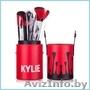 Набор кистей KYLIE в тубусе (12 кистей) Red