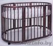 Кроватка овальная трансформер 8 в 1 из массива бука - Изображение #4, Объявление #1643287