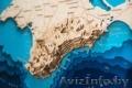 Деревянная карта Крыма под заказ - Изображение #2, Объявление #1644353