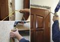 Установка межкомнатных дверей и порталов в комнатах,  недорого.
