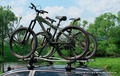 Велобагажник на крышу или фаркoп  для 3 велосипедов